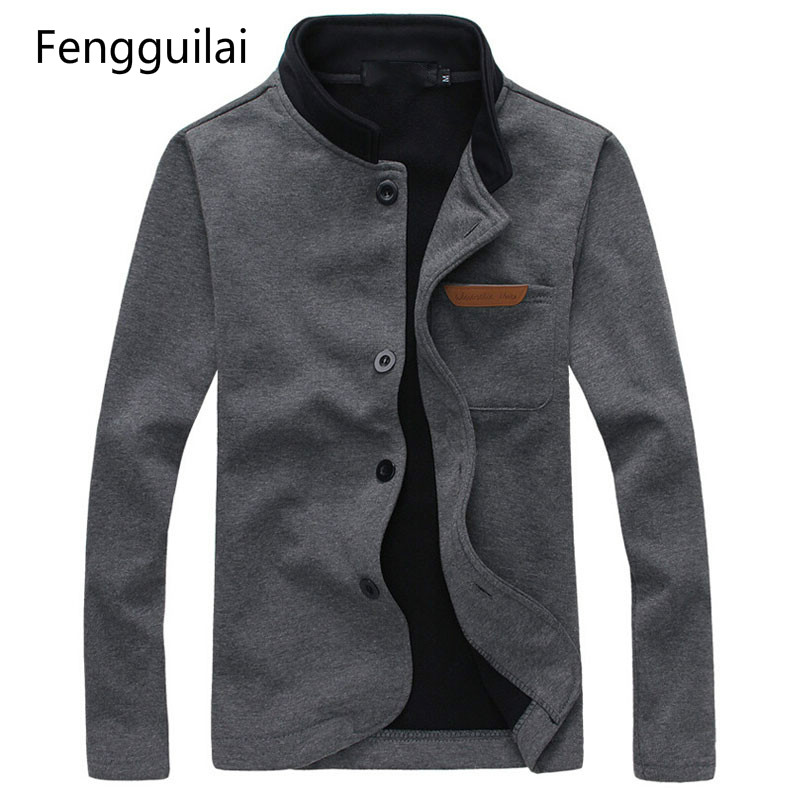 New Brand Man Jacket Sping & Autumn High Quality Pocket Decorated Casual Jackets Outdoors Fashion Men Coat Clothing