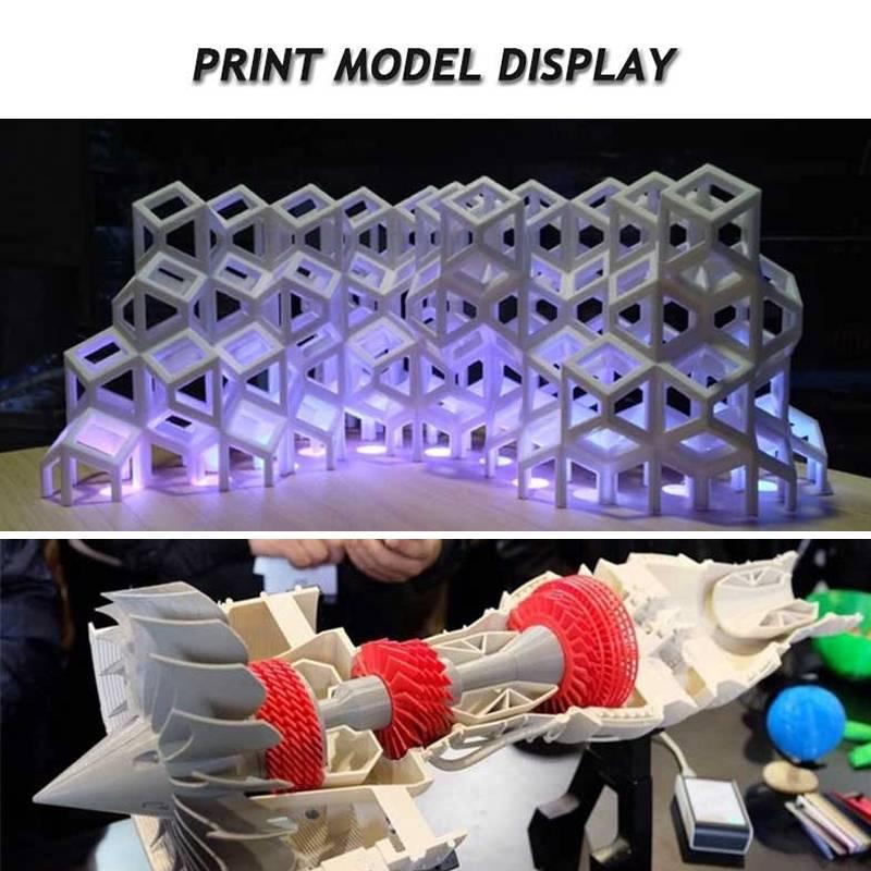 Impresora Creality 3D Ender 3 Kit de impresora 3D ranura en V I3 FDM tecnología MK10 extrusora 220x220x250mm tamaño Ender3 3D impresora - 5