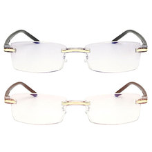 Ultralight Rimless Reading Glasses Women Men Clear Lens Anti-Blu-Ray Computer Glasses Presbyopia Reader Glasses metabo hm 17x55мм хвостовик 19 мм