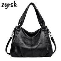 Women's Genuine Leather Handbag Large Leather Designer Tote Crossbody Bags For Women Luxury Shoulder Bag Famous Brand Handbags