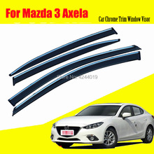 Car Sun Visor Window Rain Shade for Plastic Accessories For Mazda 3