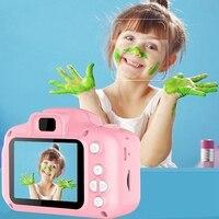 아이를위한 미니 디지털 카메라 고화질 스마트 촬영 장난감 카메라 비디오 녹화 기능 크리 에이 티브 diy 포토 프레임