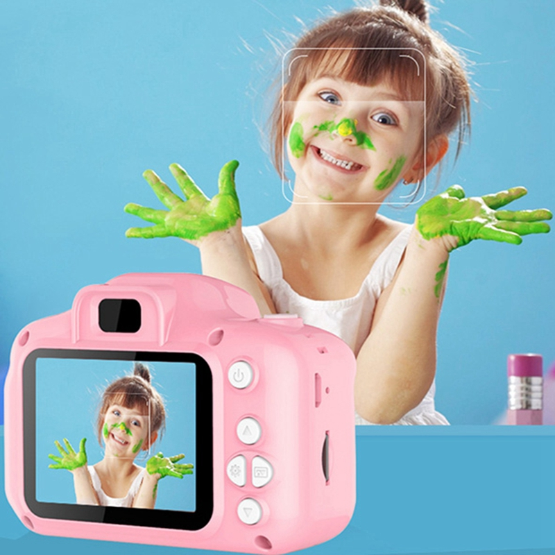 Mini Digital Camera For Kids High Definition Smart Shooting Toy Camera With Video Recording Function Creative DIY Photo Frame