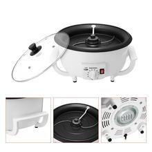 220 В Электрический аппарат для обжарки кофейных зерен машина для обжарки арахиса машина для приготовления артефактных кофейных зерен машина для выпечки бытовой сушки ЕС вилка
