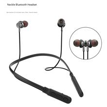 M8 Bluetooth Headset Wireless Magnetic Suction Neck Hanging earphone Motion Halter sport Headsets
