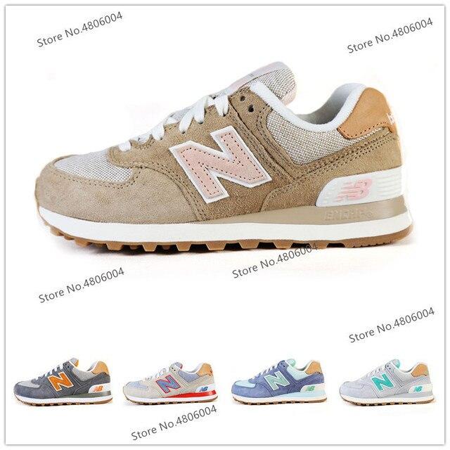 2176649b0a1c8 Hot New Balance 574 Men Shoes Classics Cushion NB574 Badminton Shoes  Lightweight Sneaker For Women 6 Colors Size 36-44