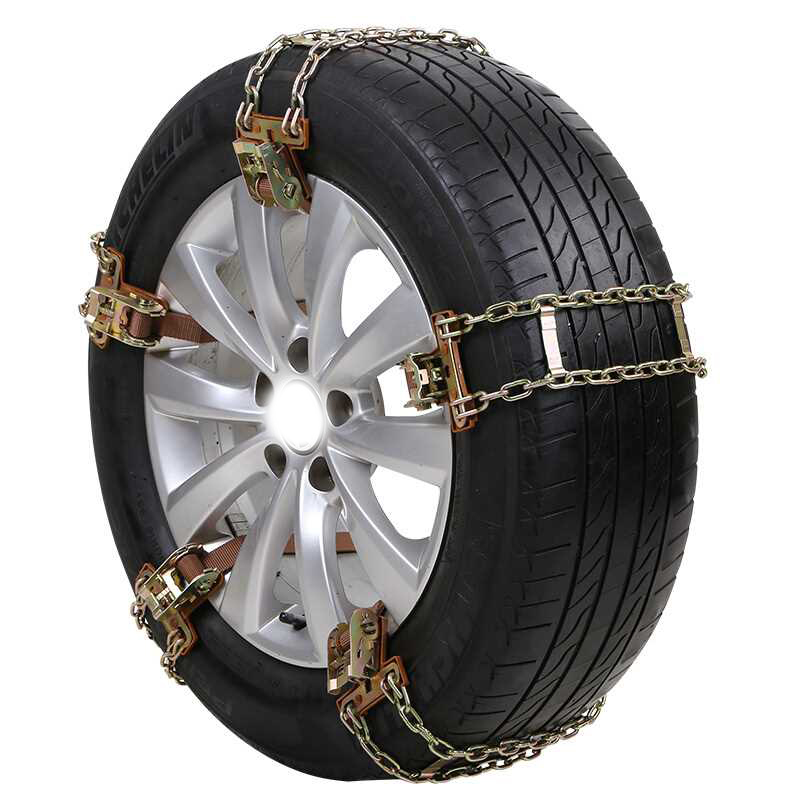 Wheel Tire Snow Anti-skid Chains For Car Truck SUV Emergency Winter 1X Universal image