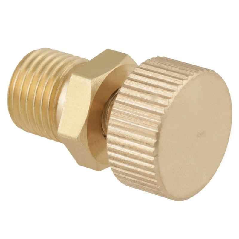 1Pcs פליז לדמם אוויר לדמם בורג שסתום בטיחות שסתום דימום חלקי חילוף החלפת ערכת גבוהה לחץ אוויר משאבת אבזרים