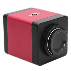 Image 2 - Version 14Mp Hdmi Vga Hd Industry 60F/S Video Microscope Camera 8~130X Zoom C Mount Lens + Remote Control(Us Plug)