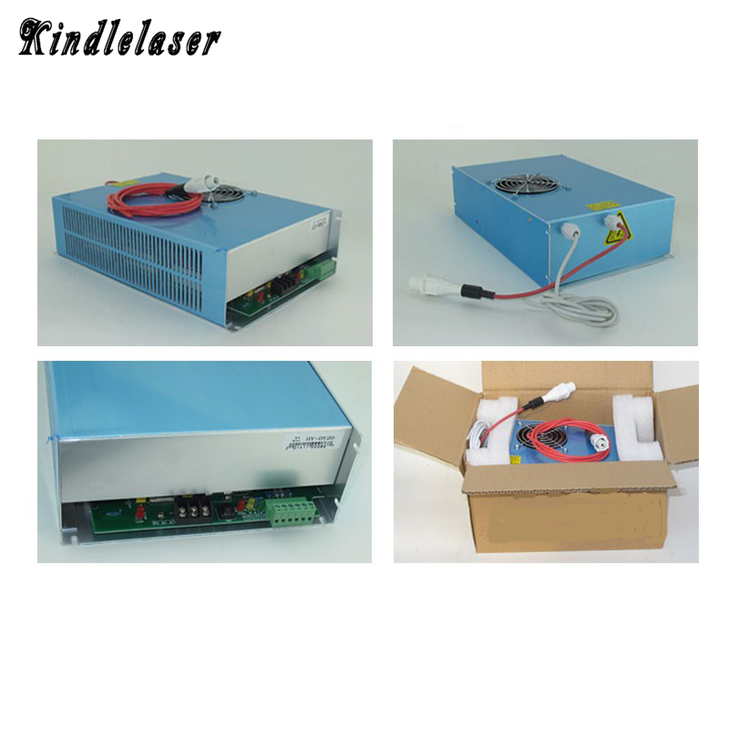 Laser Power Supply 60w for 40W 50W 60W 70W Co2 Glass Laser TubeLaser Power Supply 60w for 40W 50W 60W 70W Co2 Glass Laser Tube