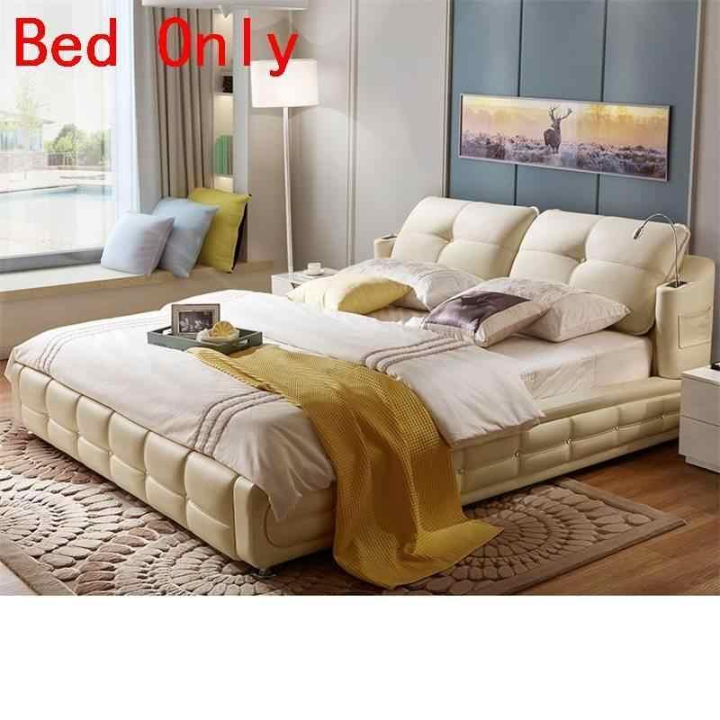 Bett Kids Box Lit Enfant Recamaras Mobilya Letto Set Modern Bedroom Furniture Leather De Dormitorio Mueble Cama Moderna Bed