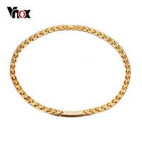 "Vnox 18"" Health Care Choker Necklace Magnetic Power Energy Jewelry Magnets Germanium"