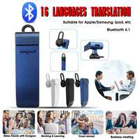 Easy Trans Smart Translator bluetooth 4.1 Mulit Languages for Learning Travel Shopping Portable Translator Portable Audio Video
