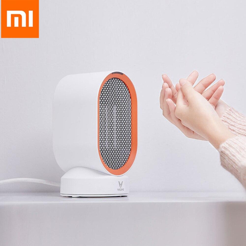 Xiaomi VIOMI radiateurs électriques comptoir Mini pièce à la maison chauffe-ventilateur pratique rapide économie d'énergie plus chaud pour l'hiver PTC chauffage en céramique