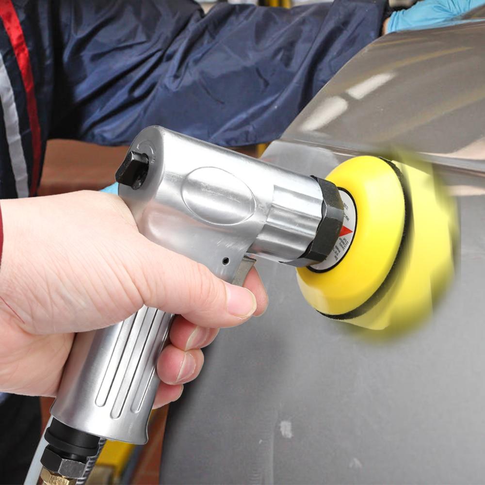 3 Inch Air Sander 2000rpm Pneumatic Car Polisher Machine Grinder Polishing Tool for Automobile Furniture Wood