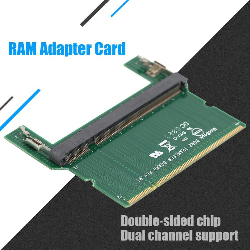 Image 5 - DDR2/DDR3 Laptop SO DIMM to Desktop DIMM Adapter Memory RAM Adapter Card Computer Cables Connectors RAM Adapter Card Promotion-in Computer Cables & Connectors from Computer & Office