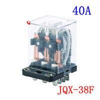 Jqx - 38f yüksek güç Th rölesi 24 V / 12 V / Will elektrik akımı Jqx Wj175 Hhc71b üç açık üç kapalı 40A