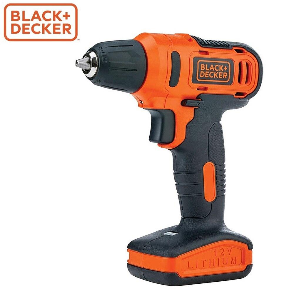 Screwdriver Black+Decker LD12SP-RU screwdrivers drill repair hand tools home repairs screwdriver black decker ld12sp ru screwdrivers drill repair hand tools home repairs