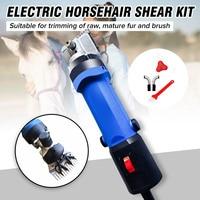 110V/220V 650W Electric Horse Sheep Clipper Animal Shearing Supplies Goat Alpaca Farm Cut Machine w/Box Adjustable Speed Trimmer