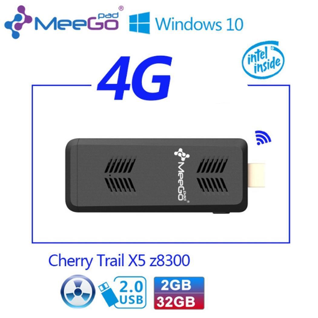 2 GB RAM Windows 10 Version maison Mini PC Intel Quad-core bâton de calcul avec Bluetooth 4.0