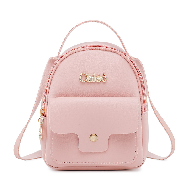 Mini Backpacks For Women Girls Pu Leather School Ba