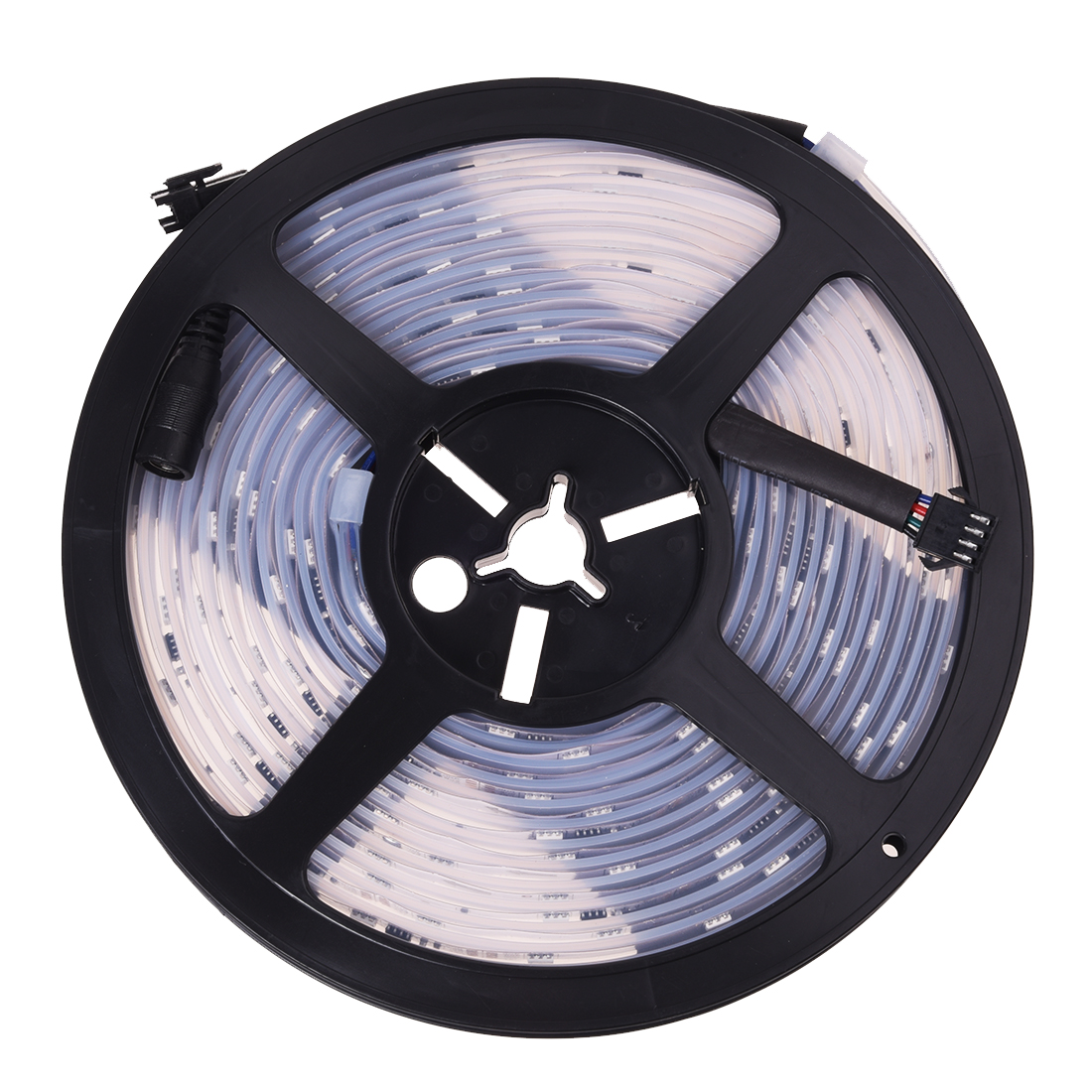 5M Waterproof RGB 6803IC LED Strip Light Chasing Magic Dream Color 133 Changes Table Lamps     - title=