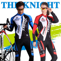 Cycling Jersey Set 2019 Long Sleeve Clothing Men Bicycle Clothes Bike Mtb Sportswear With Gel Pad Triathlon Suit Ciclismo Mujer