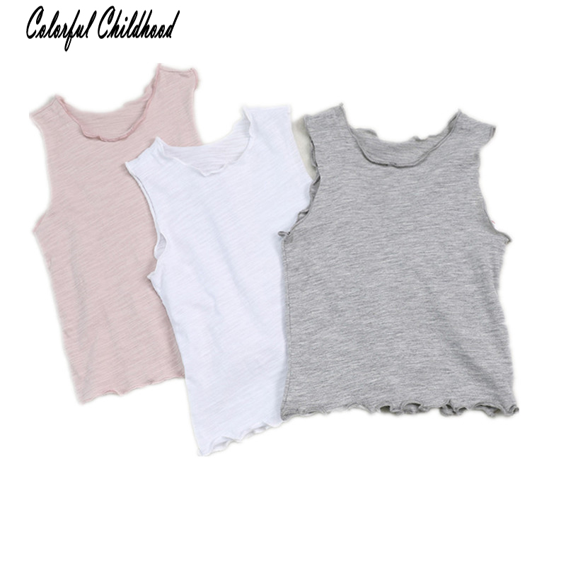 Shirt Kid Lace Toddler Girls Baby Pure-Cotton-Sleeve Boys Casual Summer Unisex Tee Solid