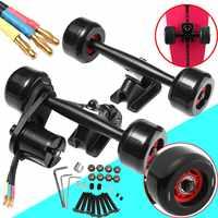 Electric Skateboard Truck Off Road Skateboard Belt Drive Truck 4 Wheel N5065 Electric Skateboard Parts Kit