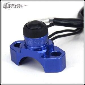 Заготовка CNC универсальная кнопка выключения двигателя для CR125 CR150 CR250 CR500 CRF230 CRF250 CRF250X CRF450R мотоцикла