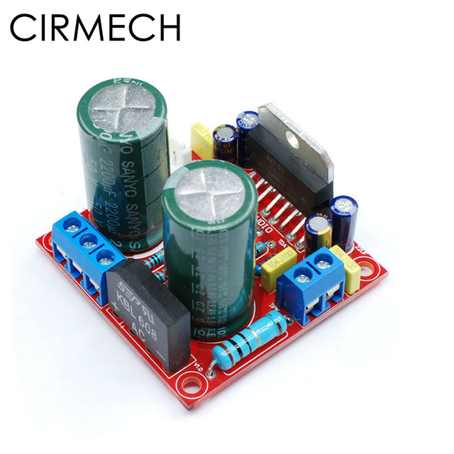 CIRMECH AC12 32V single channel TDA7293 100 HIFI เครื่องขยายเสียง diy ชุดประกอบ board