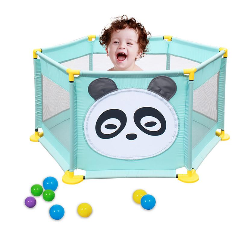 Children's Playpen Playard Toys Ocean Ball Pool Set Baby Bed Fence Keep Your Baby Safe While Providing A Large Gaming Area
