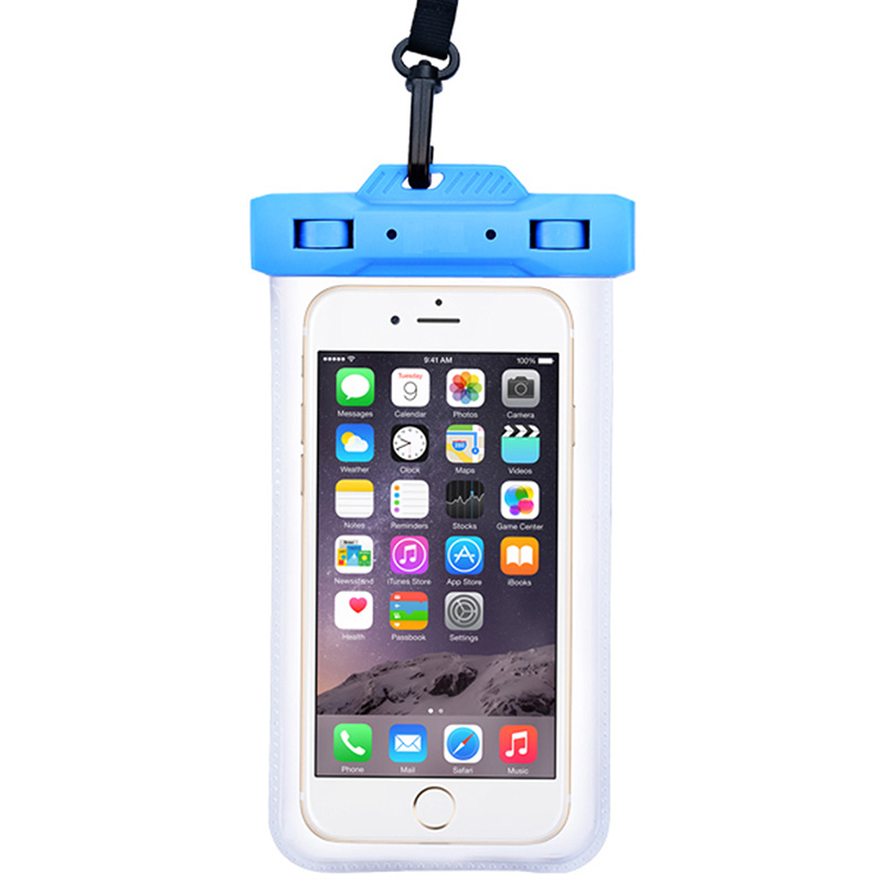 Swimming Bag Waterproof Bag Dust Bag Mobile Phone Case For Iphone 6 6s 7 Huawei All Models 3.5 Inches 6 Inches With Lanyard