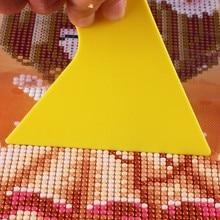 1 шт. желтые алмазные инструменты для коррекции рисунка аксессуары для рисования корректор для алмазной живописи Наборы инструментов для фиксации