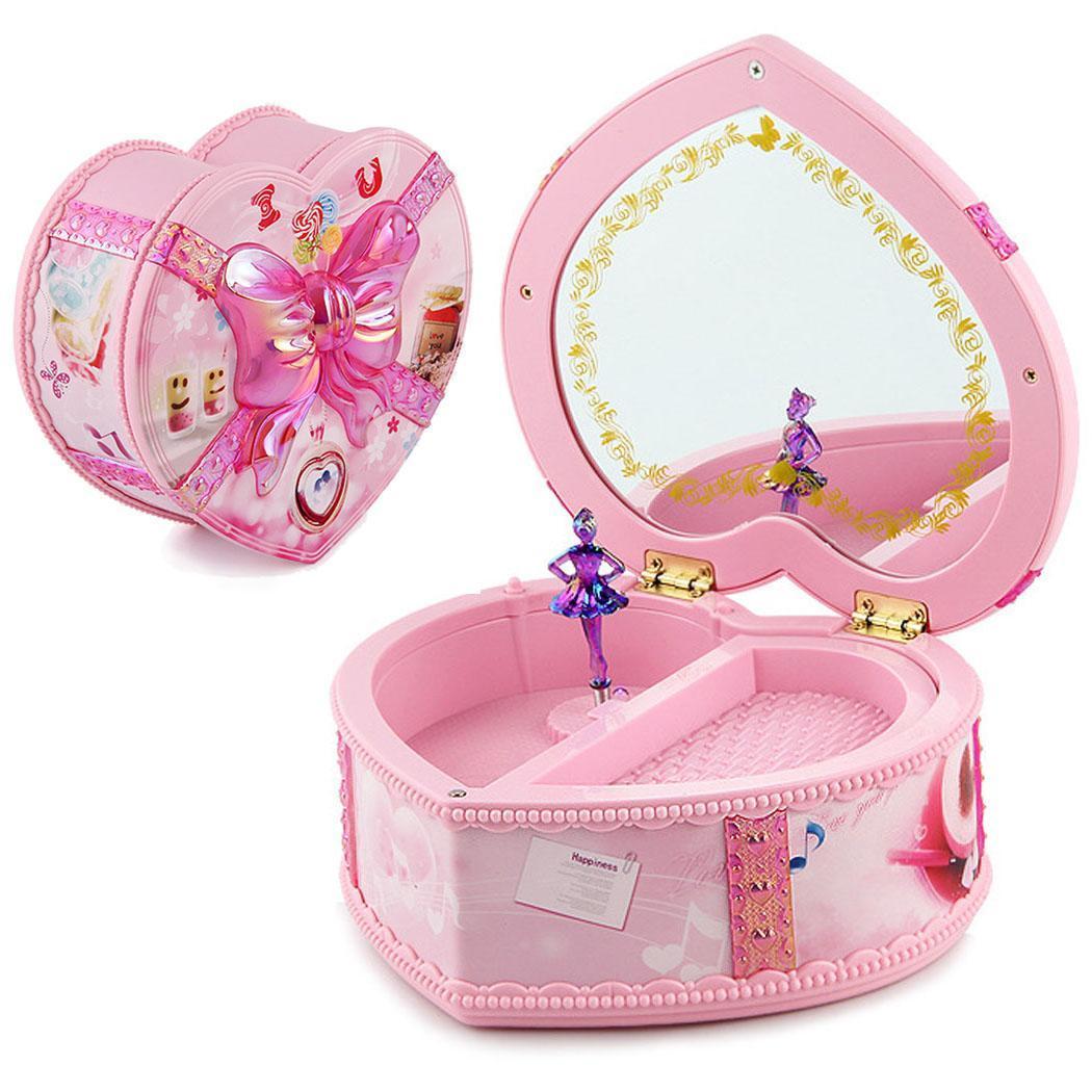 Beautiful LED Light Strap Glow Heart appearance design, fashion and beautiful. Music Box Fashion Toy Gift