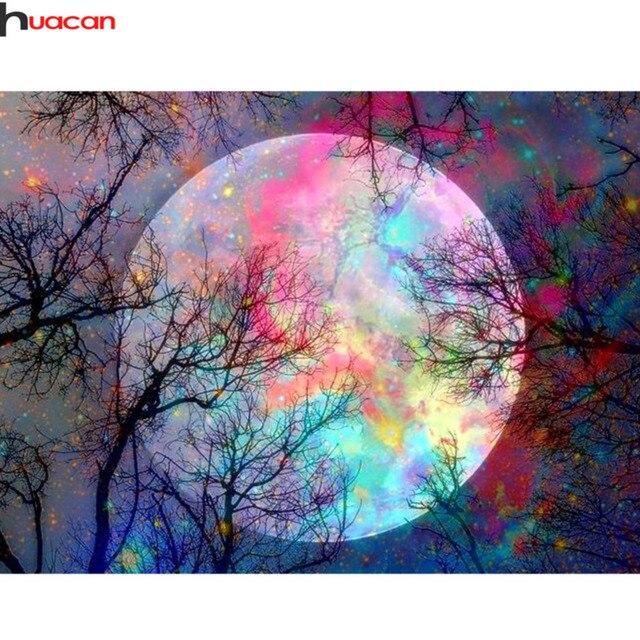 Moon Diamond Painting