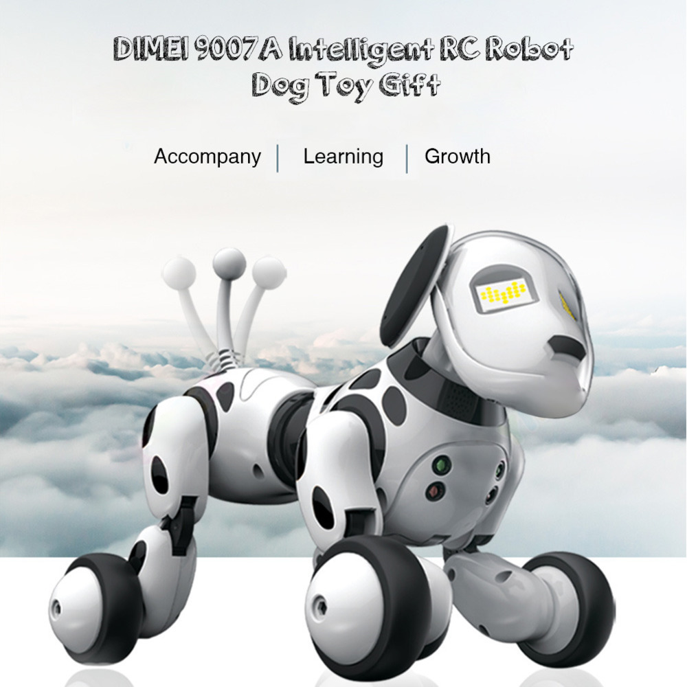 Smart Robot Dog 2.4G Wireless Remote Control Dog Intelligent Talking Robot Dog Toys Electronic Pet Kids Toy Birthday Xmas Gift-in Electronic Pets from Toys & Hobbies    1
