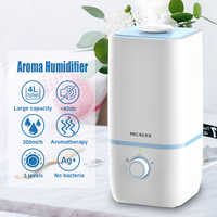 Cool Mist Humidifiers 4L Air Humidifier Ultrasonic Essential Oil Aromatherapy Diffuser Large-Capacity Vaporizer for Bedroom Baby