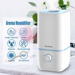 Cool Mist nawilżacze 4L nawilżacz powietrza ultradźwiękowy olejek dyfuzor do aromaterapii o dużej pojemności parownik do sypialni dziecko w Nawilżacze powietrza od AGD na