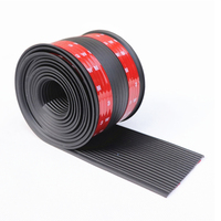 4M Car Side Skirt Anti collision Scratch resistant Protective Strip Flexible Rubber Bumper Decorative Strip