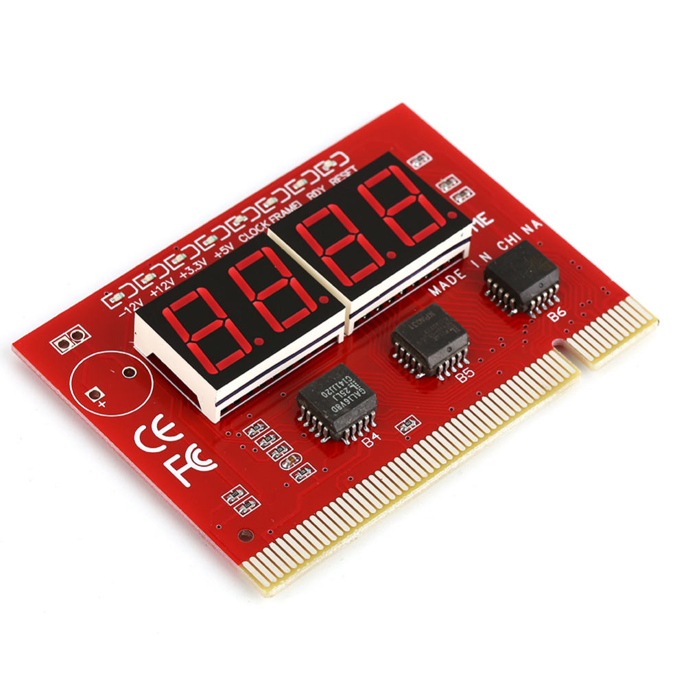 Professioneller Verkauf W23 Lcd Display Pci Computer Pc Analyzer Motherboard Tester Diagnose-led 4 Digit Analyse Post Karte Analyzer Tester