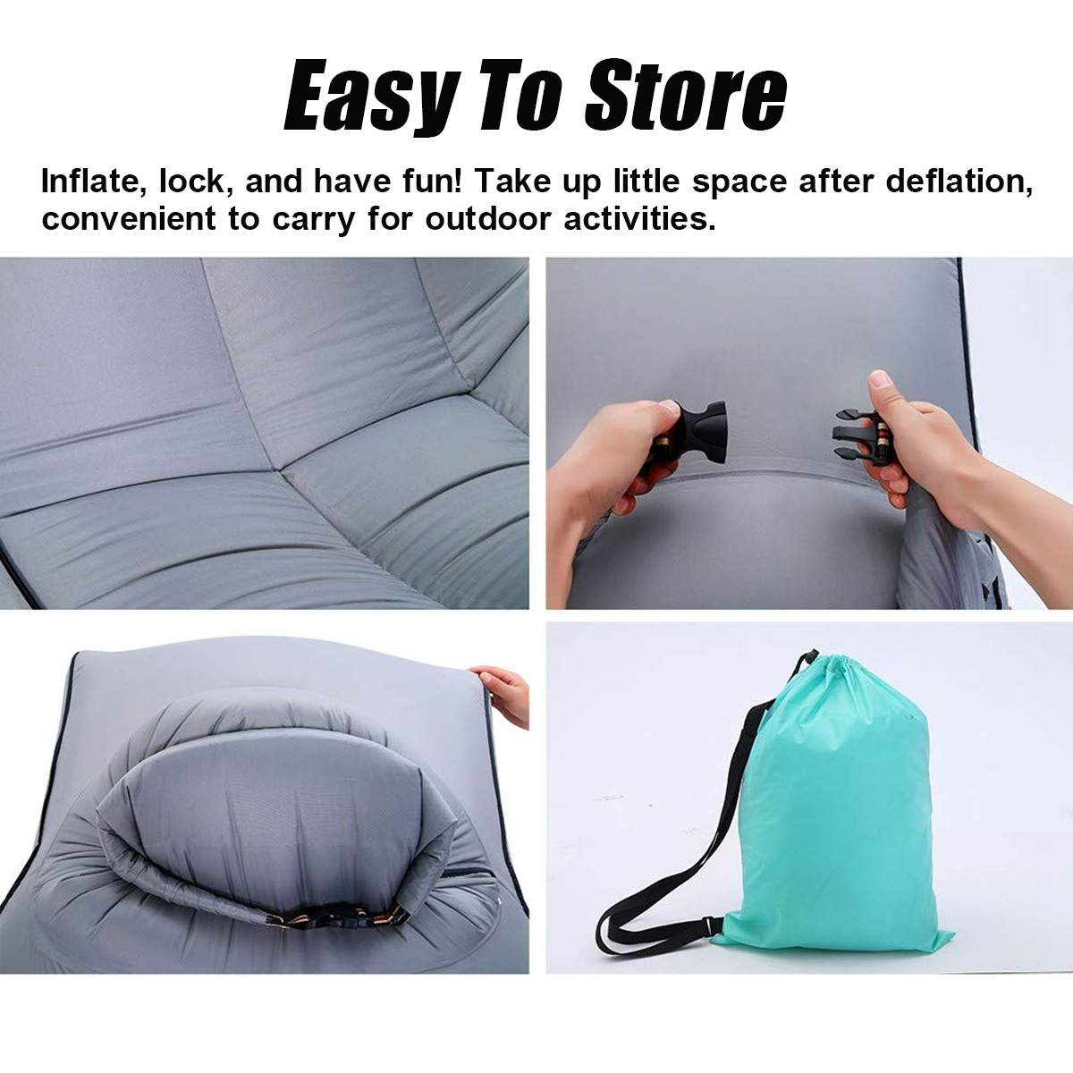 Fantastic Outdoor Inflatable Sofa Couch Lounge Chair Beach Camp Chaise Machost Co Dining Chair Design Ideas Machostcouk