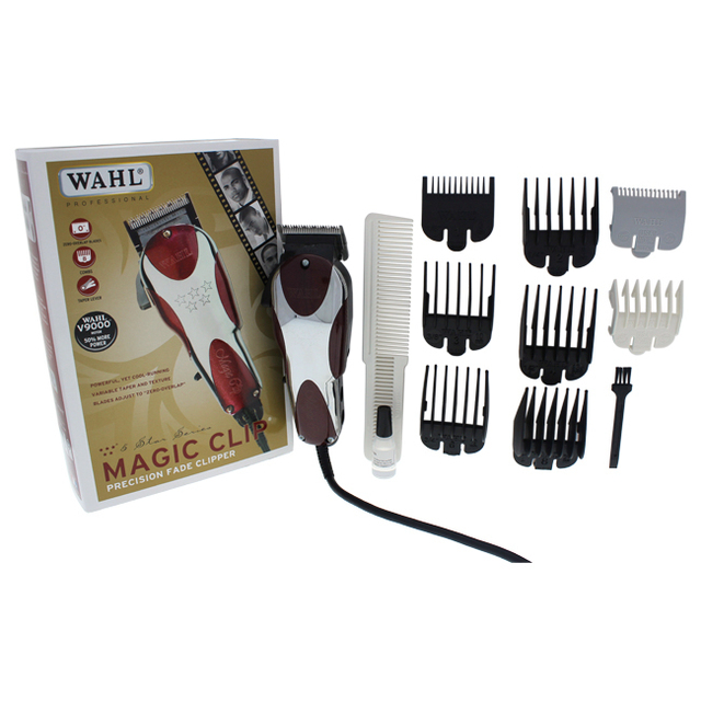 5 Star Magic Clip Model 8451 White Red By Wahl Professional For