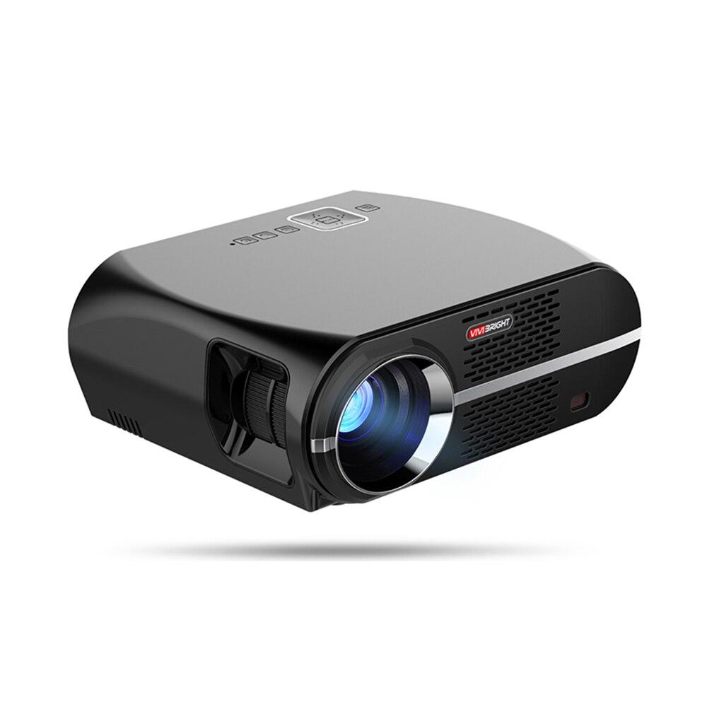 Projecteur VIVIBRIGHT GP100 3200 Lumens 1080 P WIFI Bluetooth projecteur Home cinéma Android projecteur LED lcd Proyector