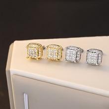 925 sliver jewelry Diamond Stud Earrings Kolczyki Brincos for Women Perola Bizuteria Boucle Perle Orecchini Jewelry Stud Earring капли relaxivet успокоительные 10 мл