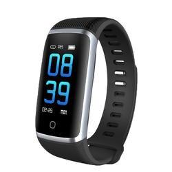 Q16 смарт-браслет 2 Фитнес браслет Водонепроницаемый Спорт трекер сообщение толкать кровь Давление Кислорода Монитор сердечного ритма часы