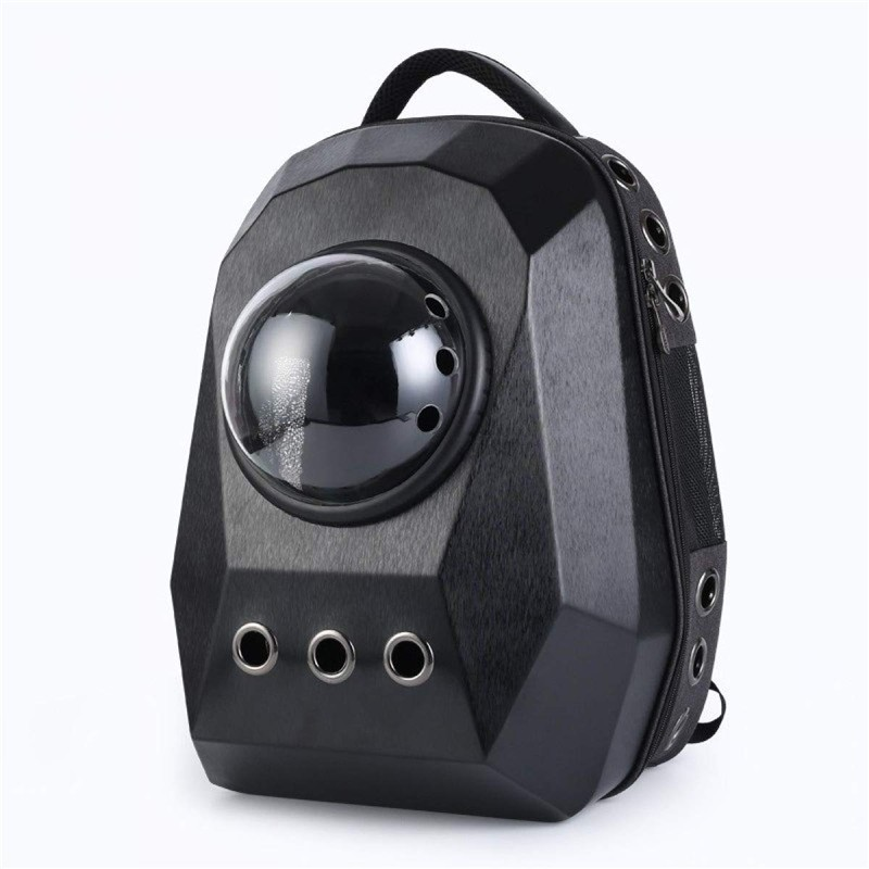 Fashion Pet Cat Dog Backpack Password Design Puppy Chihuahua Small Dog Carrier Bag Transparent Outdoor Carrier