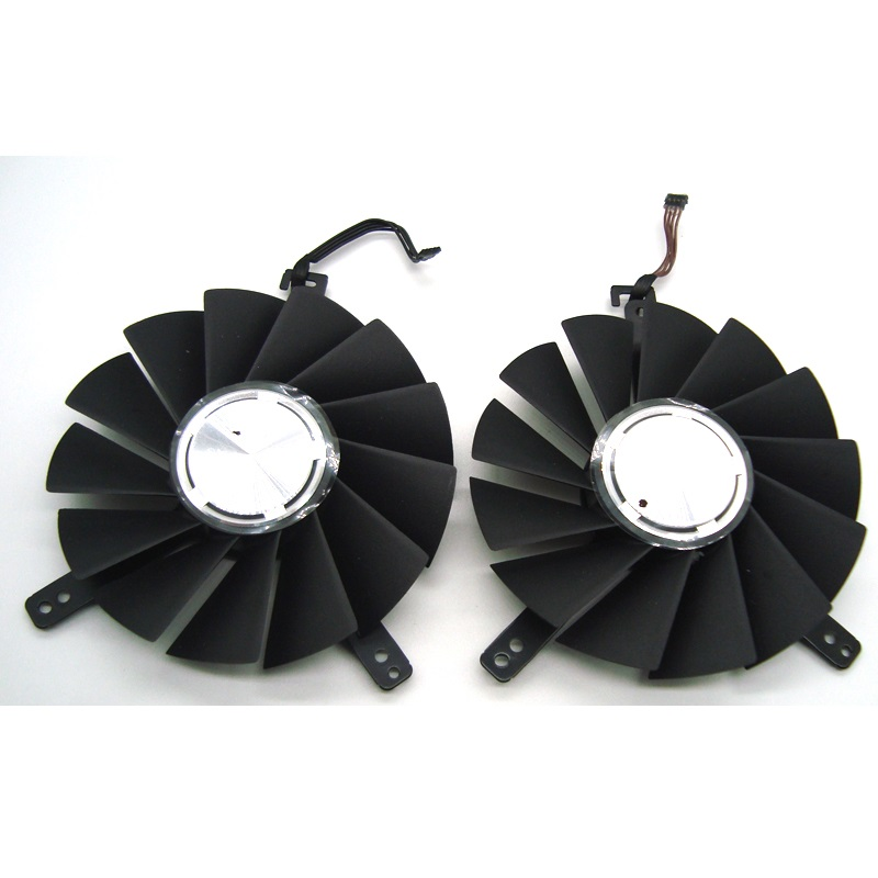new DC12V 0.60A DAPA0815B2UP001 DAPA0815B2UP004 Graphics Card Fan For <font><b>NVIDIA</b></font> GeForce <font><b>RTX</b></font> 2080 <font><b>RTX</b></font> <font><b>2080Ti</b></font> Founders Edition image