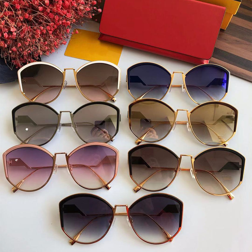 light Spiegel Designer gold Uv400 Gray Marke Qualität pink Sonnenbrille Brillen So Hohe Frauen navy white Für Retro Vintage Cat Sams silver Frau Mode amp; Grey Eye BZ1FFn