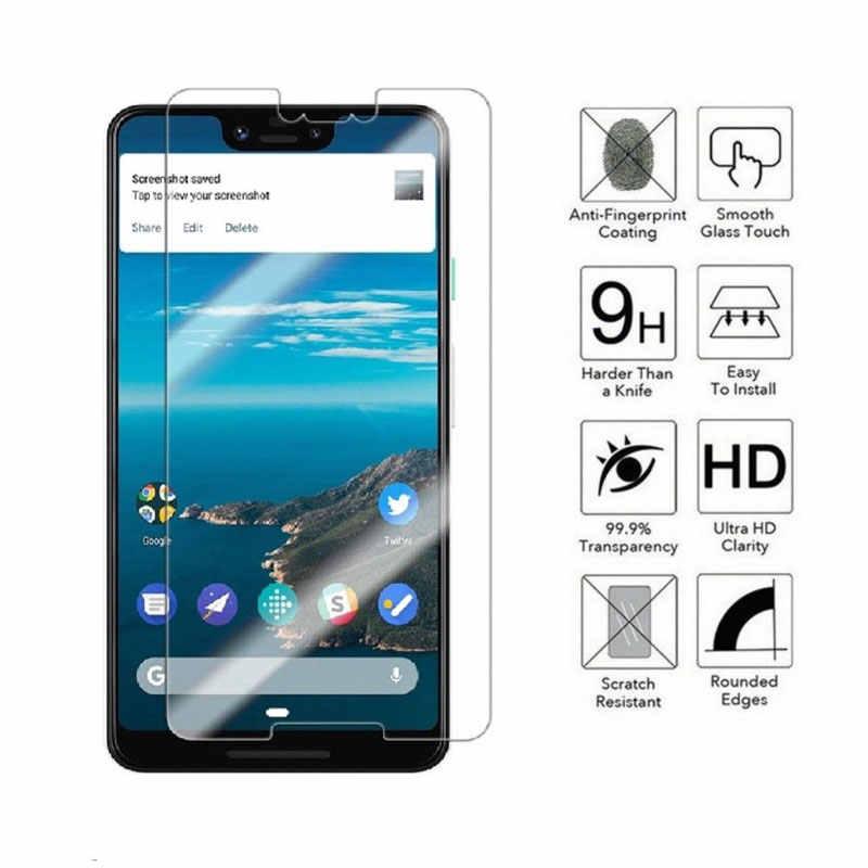 9 h premium vidro temperado para google pixel 3 lite 3a 2 3 xl pixel pixel2 pixel3 xl htc protetor de tela película protetora